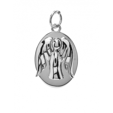 ANGELSVOICE Pendant angel of richness oval