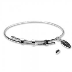 ANGELSVOICE Bracelet rigid with unscrewable caps