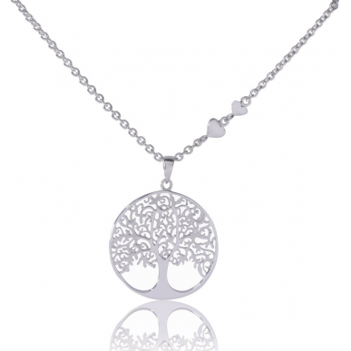 ANGELSVOICE Necklace 925 Tree of Life 43+5cm