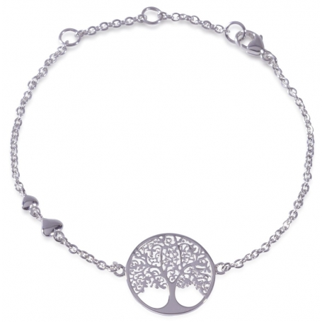 ANGELSVOICE Bracelet 925 Tree of Life