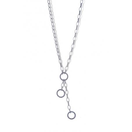 ANGELSVOICE Ypsilon Ankerkette Silber 925 rhodiniert
