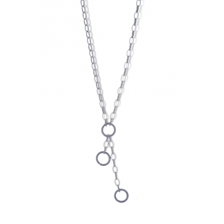 ANGELSVOICE Cable chain Y silver 925 rhodium