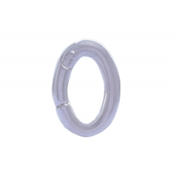 ANGELSVOICE  Jump ring silver 925 rhodium