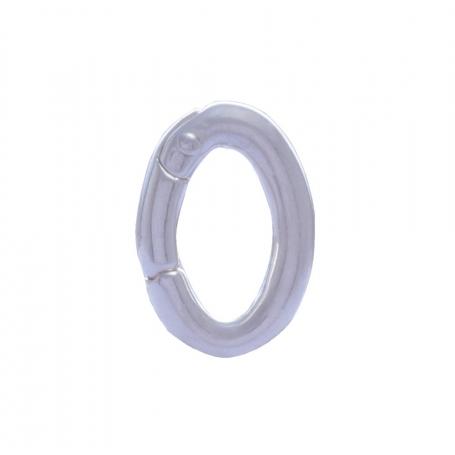 ANGELSVOICE Bélière clip ovale à charnière 925