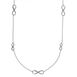 ANGELSVOICE Necklace Silver 925 Infinity