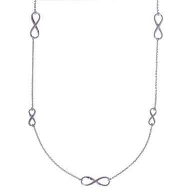 ANGELSVOICE Collier Silber 925 Infinity