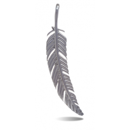 TRAUMFÄNGER Steel Pendant Feather