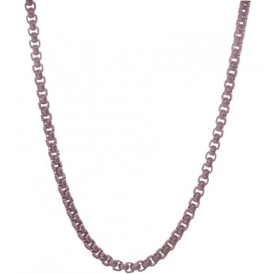 TRAUMFÄNGER Venezianer-Halskette Edestahl braun