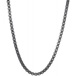 TRAUMFÄNGER Venezianer-Halskette Edestahl schwarz