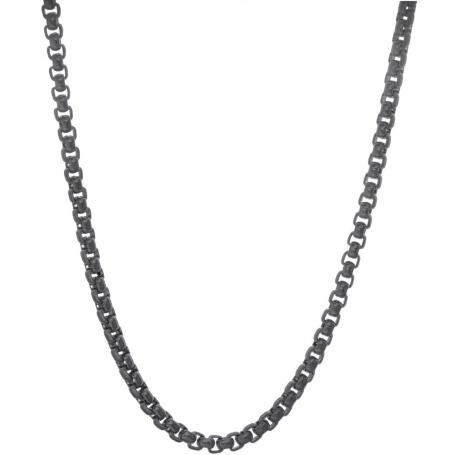 TRAUMFÄNGER Steel Venetian Chain Black