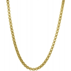 TRAUMFÄNGER Steel Venetian Chain Yellow Gold Plated