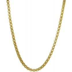 TRAUMFÄNGER Venezianer-Halskette Edestahl gelb vergoldet