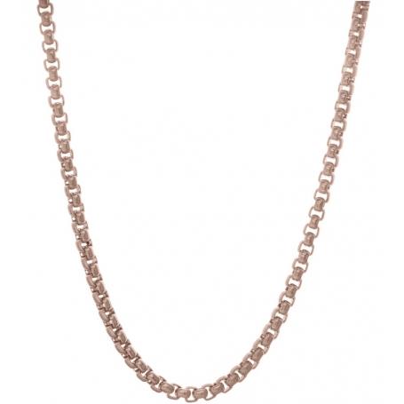 TRAUMFÄNGER Venezianer-Halskette Edestahl rosé vergoldet