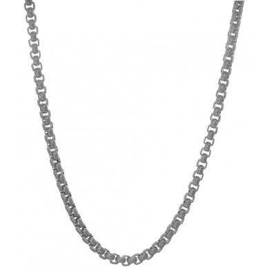 TRAUMFÄNGER Venezianer-Halskette Edestahl grau