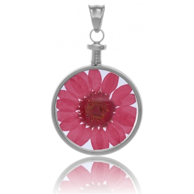 BLUMENKIND Stainless Steel Pendant with Flower