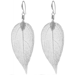 BLUMENKIND Stainless Steel Earings Leaf