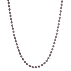 Blumenkind Steel Dark Grey Ball Chain