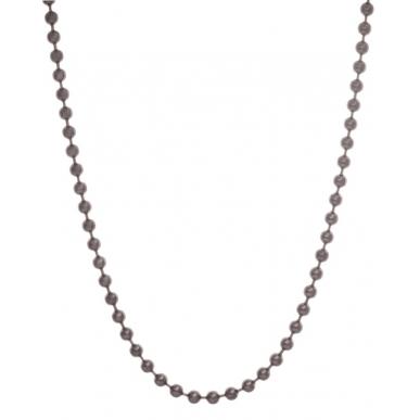 Blumenkind Steel Dark Grey Ball Chain