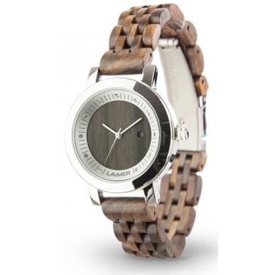 LAiMER Wood Watch JULIA