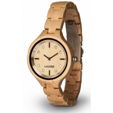 LAiMER Wood Watch MARIA