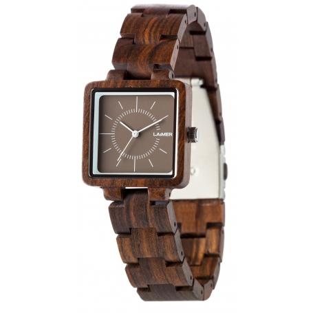 LAiMER Wood Watch ISABEL