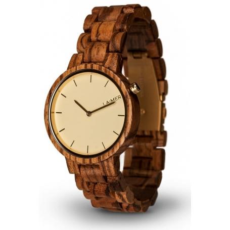 LAiMER Wood Watch MELANIE