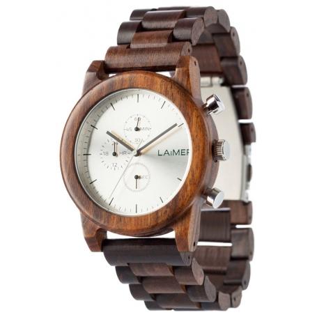 LAiMER Wood Watch DAMIAN