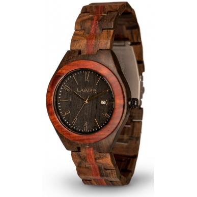 LAiMER Wood Watch JANOS