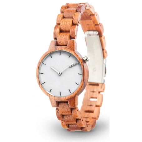 LAiMER Wood Watch MARMO ROSE