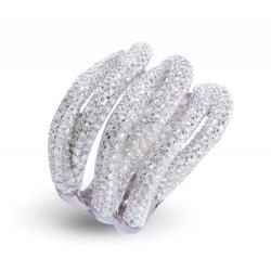 Giorgio Martello Interlaced Silver Ring
