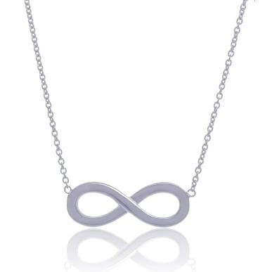 Giorgio Martello Infinity Silver Necklace