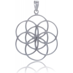 ANGELSVOICE Pendant seed of life in silver 925