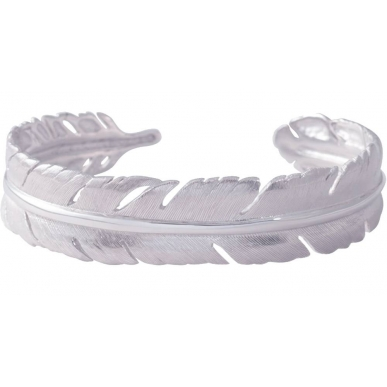 ANGELSVOICE Bracelet feather in silver 925