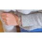 ANGELSVOICE Bracelet fleur de vie en argent rhodié