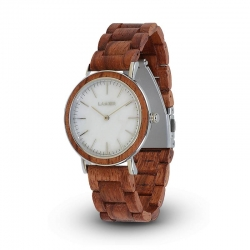LAiMER Wooden Watch Elsa with quartz movement