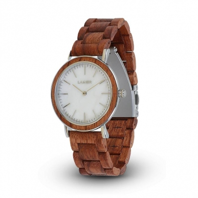 LAiMER Wooden Watch Elsa with quartz movement