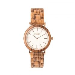 LAiMER Wooden Watch Leona with quartz movement