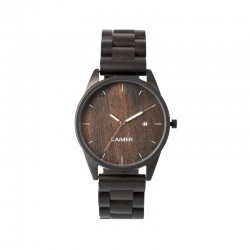 LAiMER Wooden Watch Sascha with quartz movement