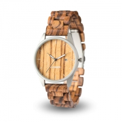 LAiMER Wooden Watch Ulli with quartz movement