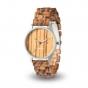 LAiMER Montre en bois Ulli avec mouvement quartz
