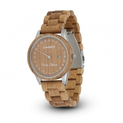 LAiMER Wooden Watch WINE EDITION