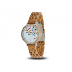 LAiMER Wooden Watch CAPRI