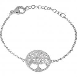 Armband Lebensbaum in Silber mit Zirkonia
